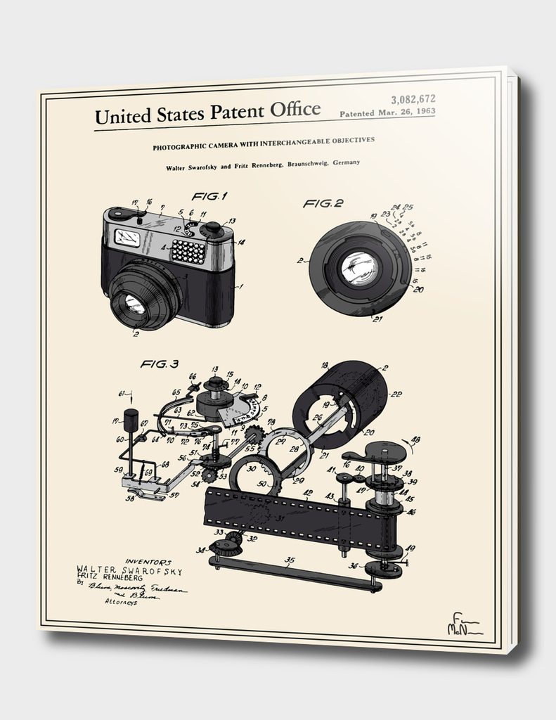 Camera Patent 1963