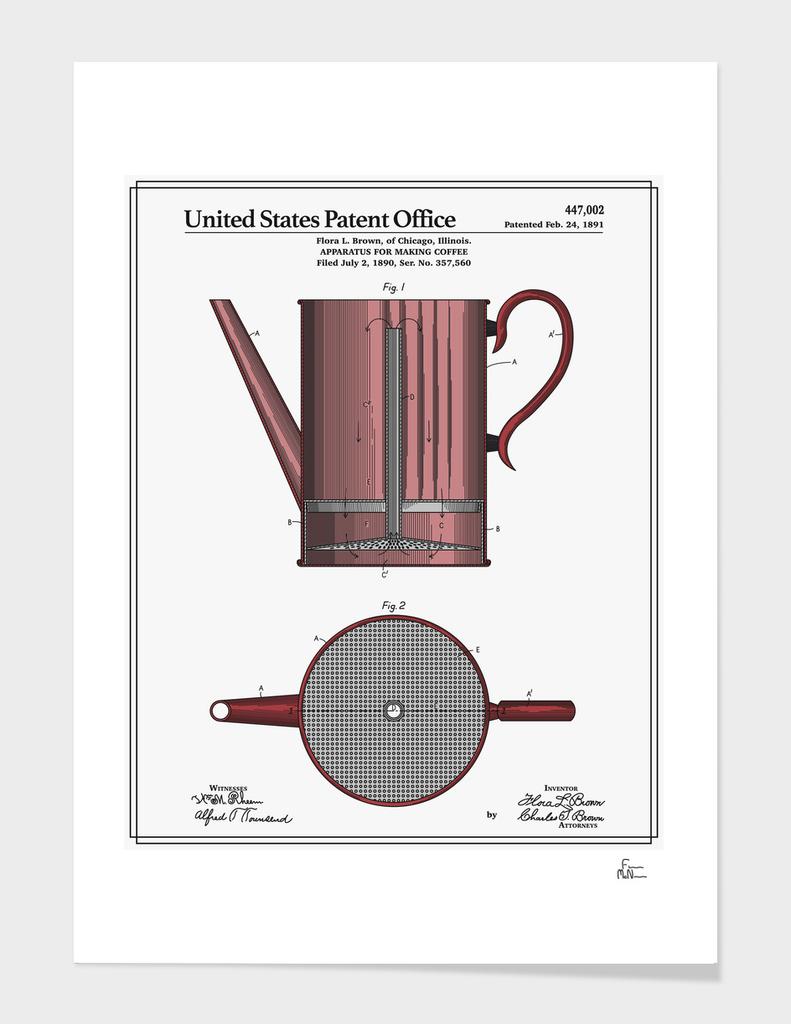 Coffee Press Patent