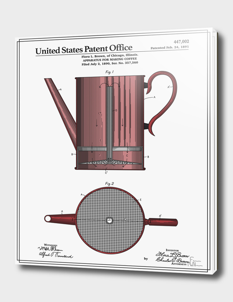 Coffee Press Patent