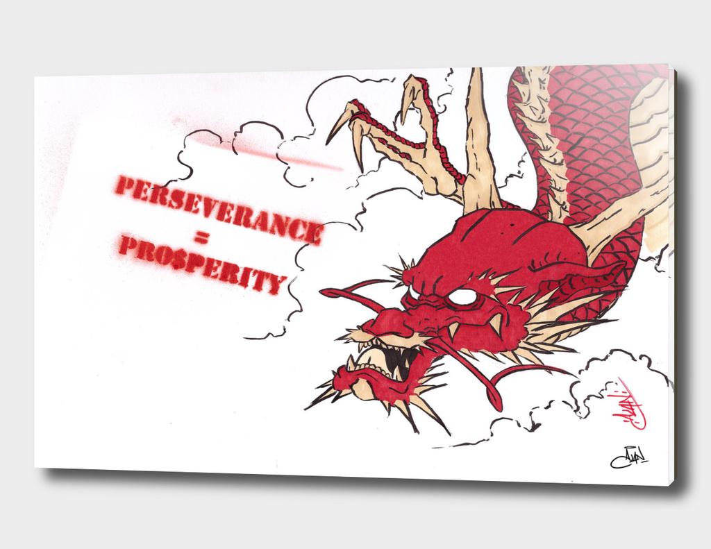 Perseverance = Pro$perity