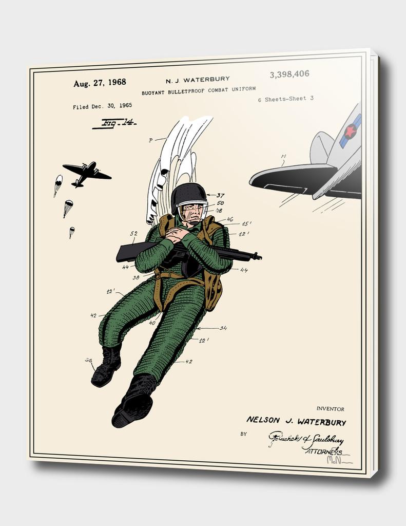 Combat Suit Patent