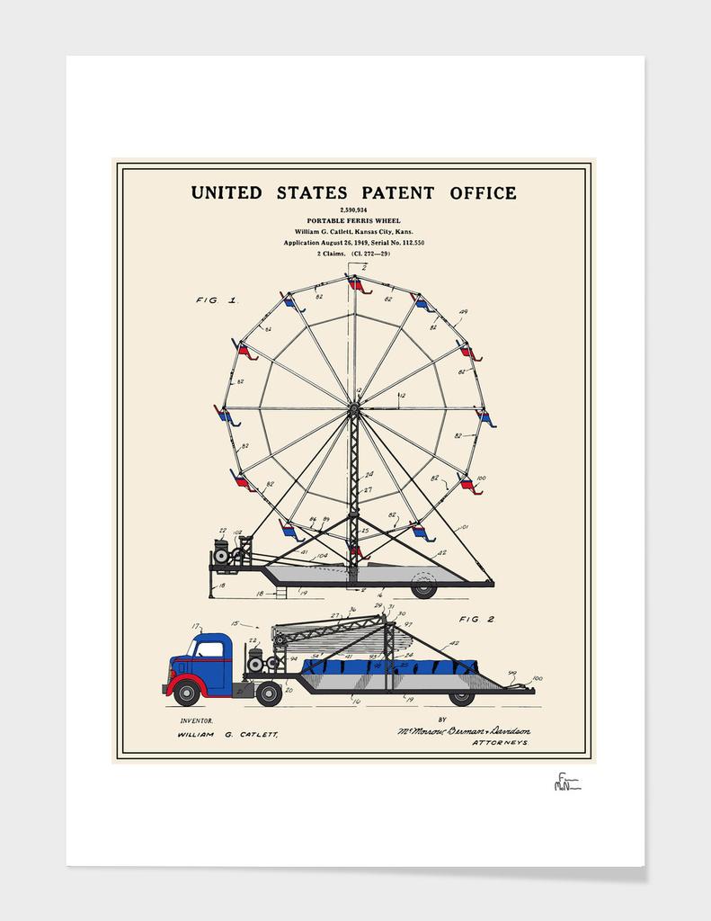 Ferris Wheel Patent