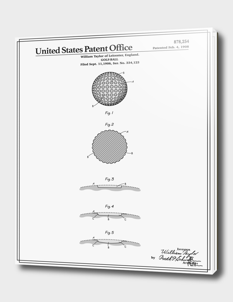 Golf Ball Patent