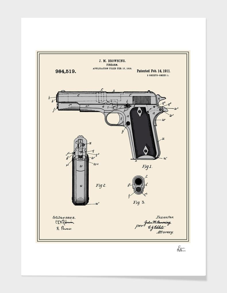 Handgun Patent