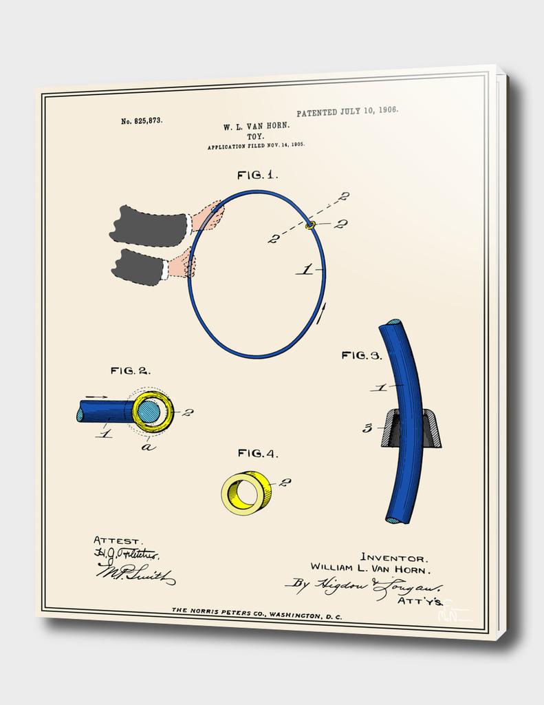 Hula Hoop Patent