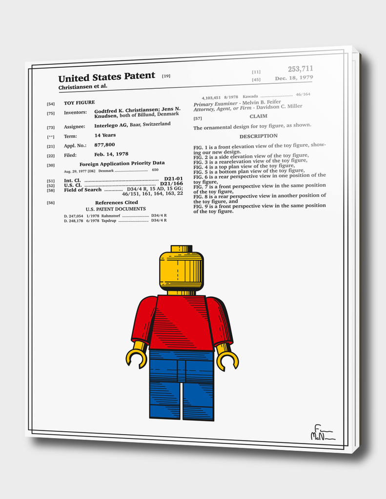 Toy Figure Patent v1