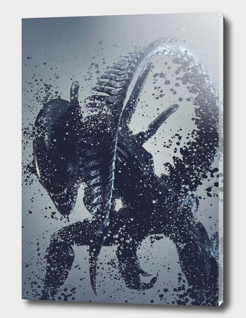 Alien warrior version 2