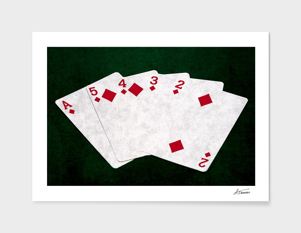 Poker Hands - Diamonds Straight Flush