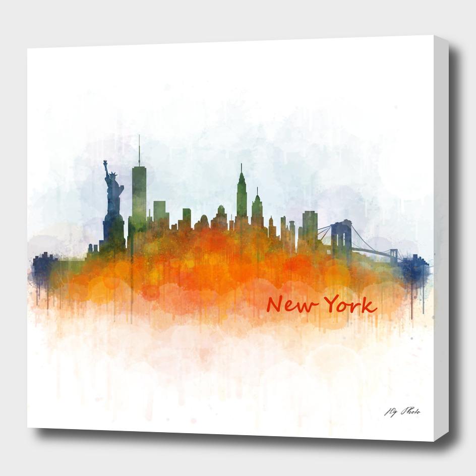 NYC New york cityscape skyline v3