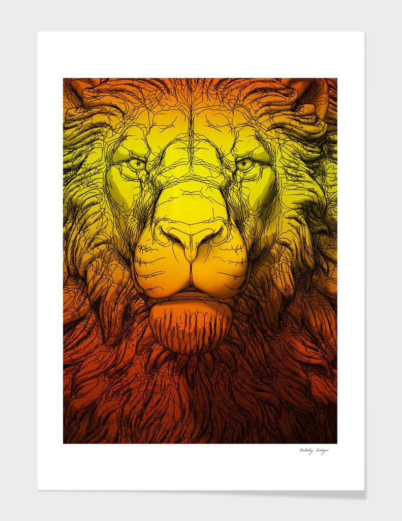 Lion orange