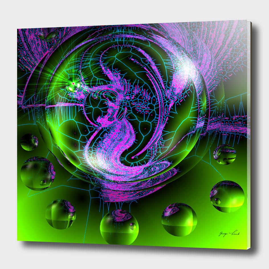 Mermaid In A Bubble