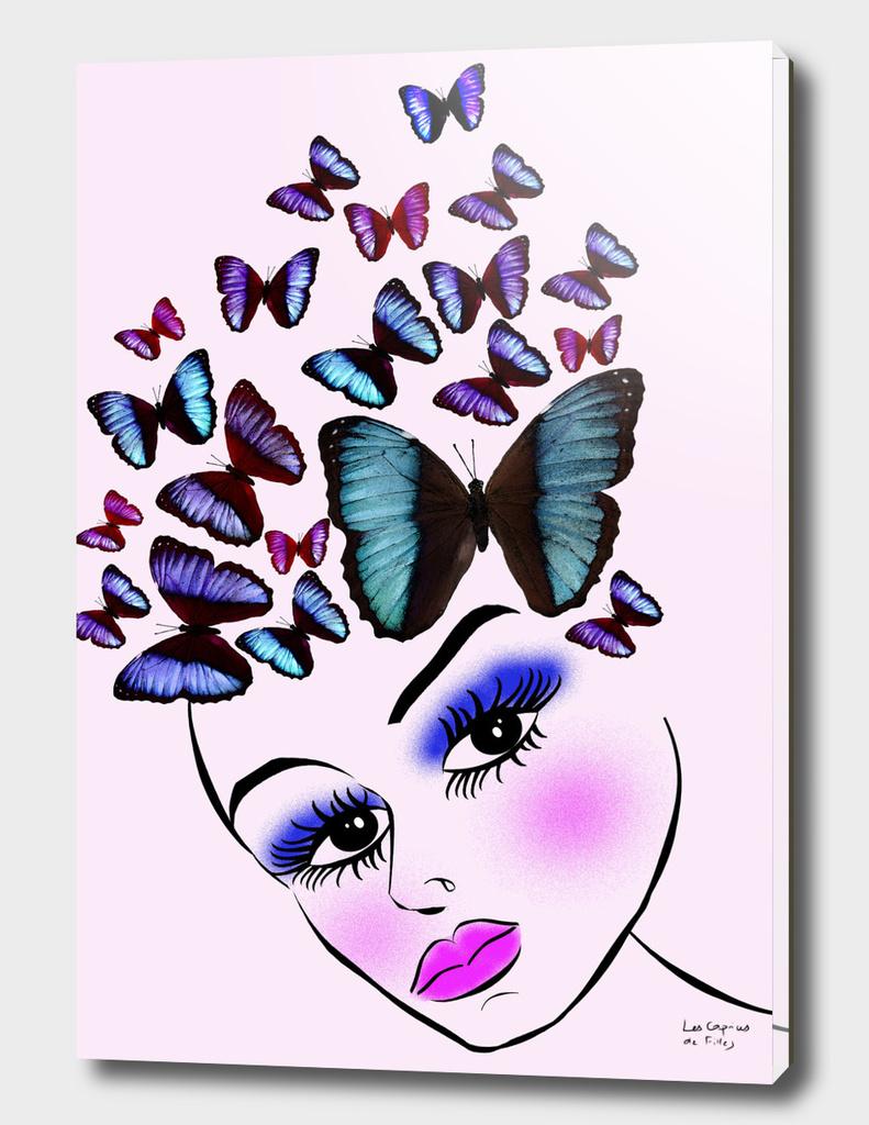 Butterflyer's woman