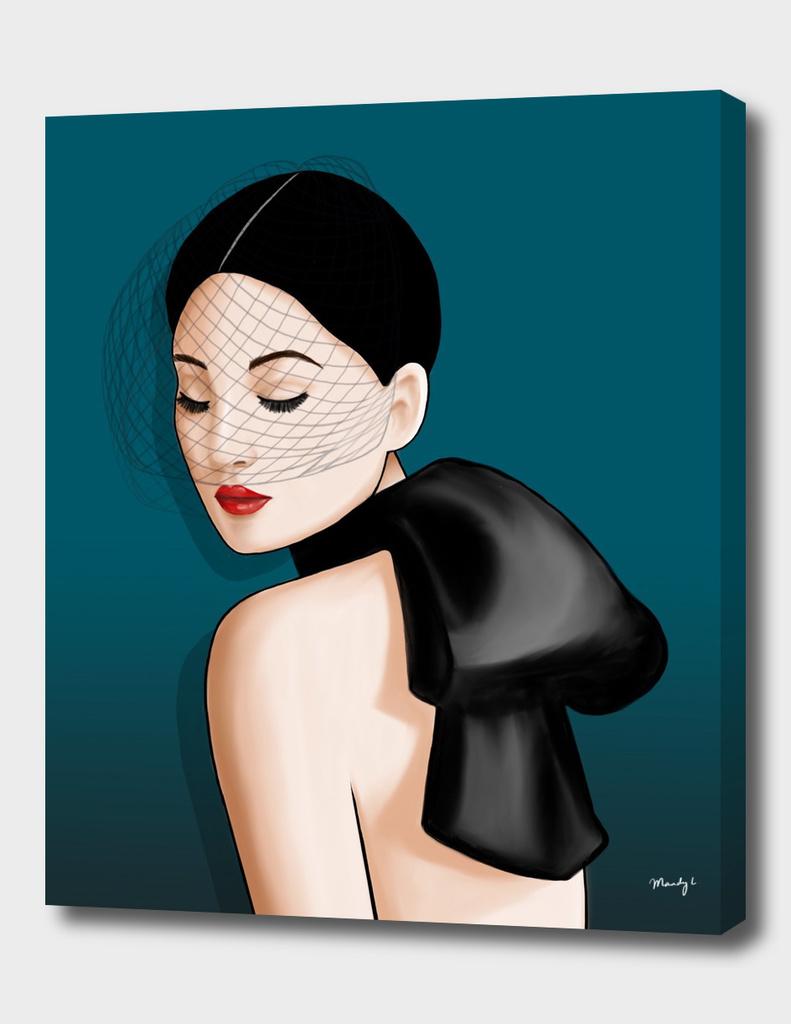 Teal Lady Dior