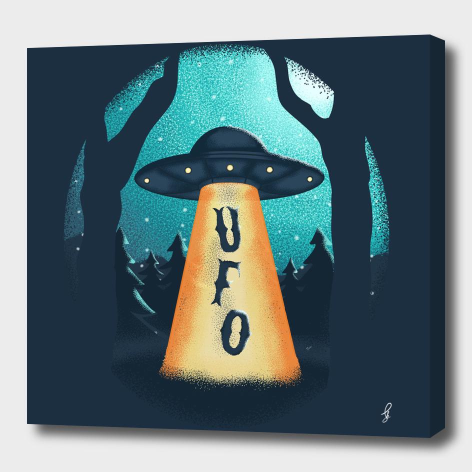 Ufo in Winter