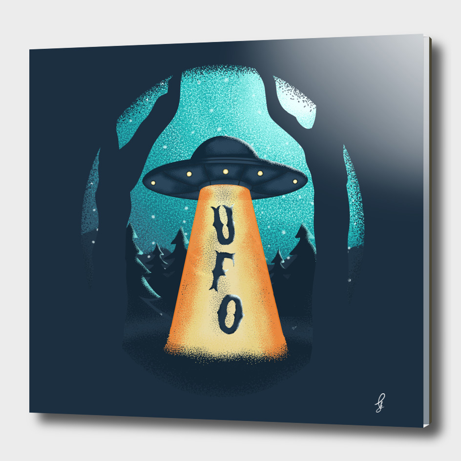 Ufo in Winter