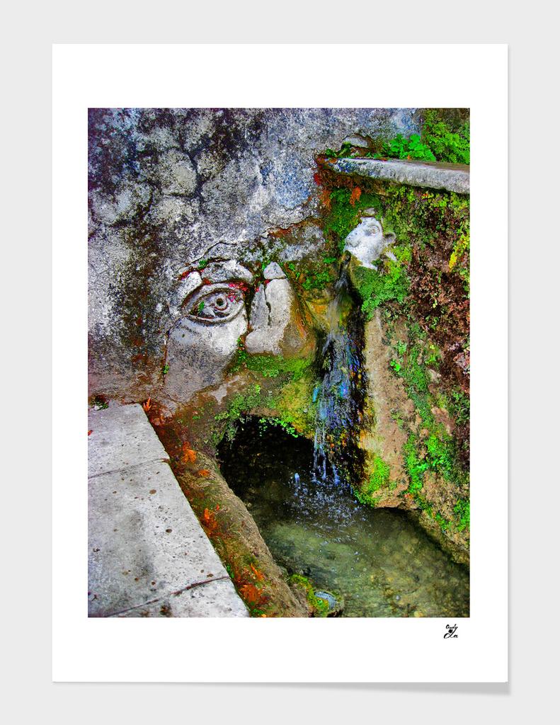 Tivoli. Fountains.