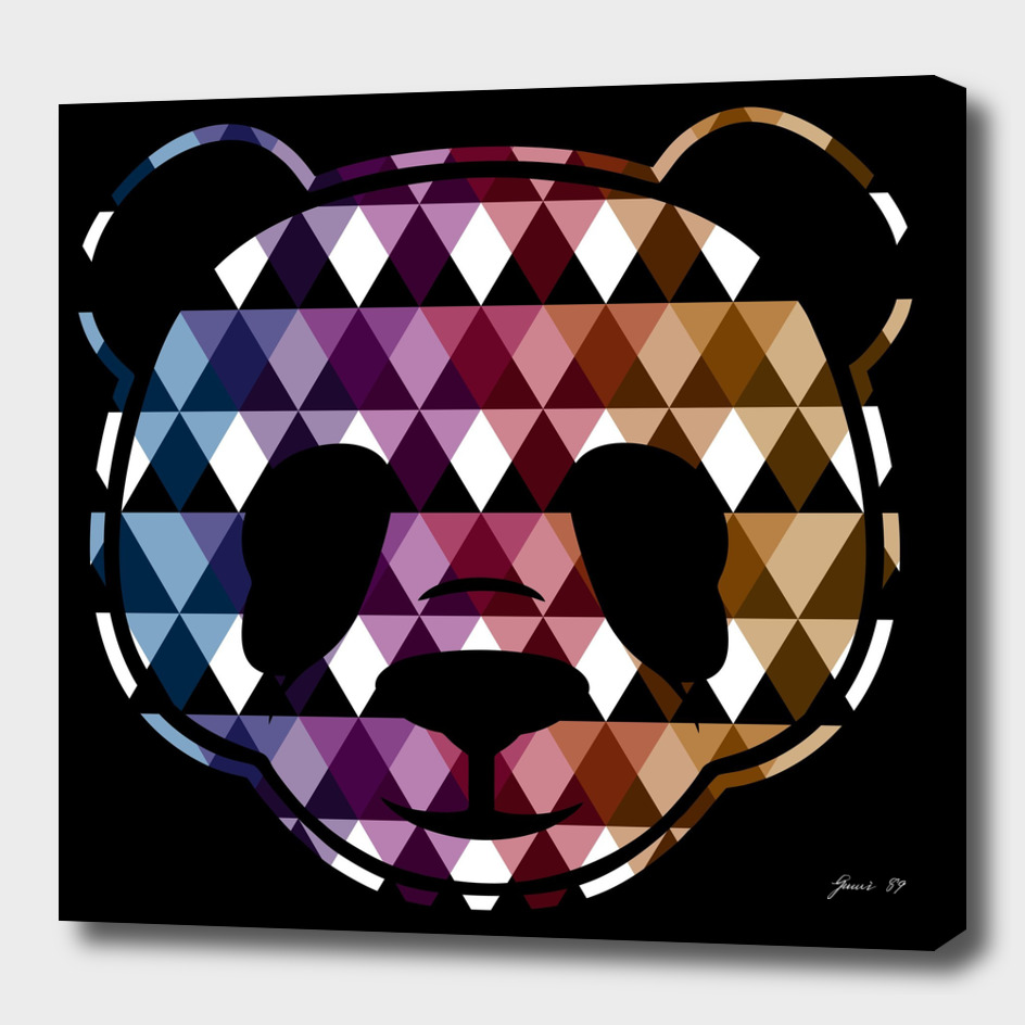 HEAD PANDA TRIANGLE (BLACK)