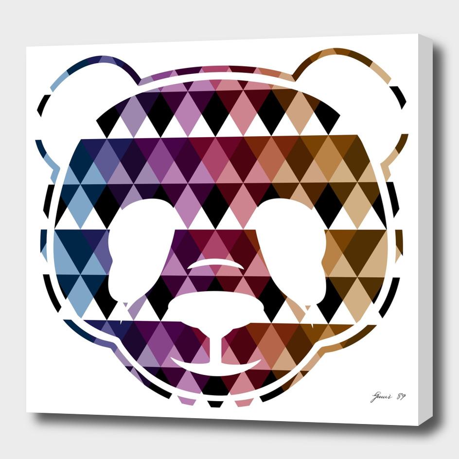 HEAD PANDA TRIANGLE (WHITE)
