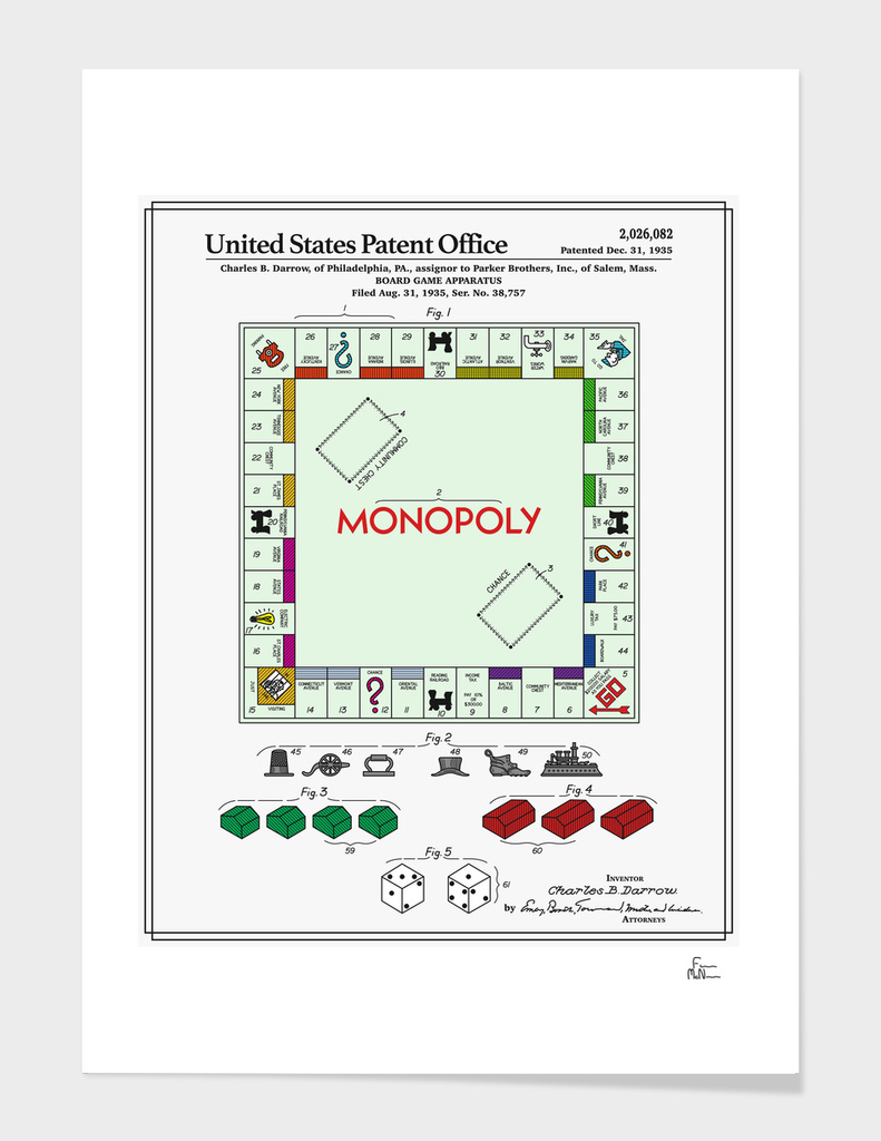 Board Game Patent