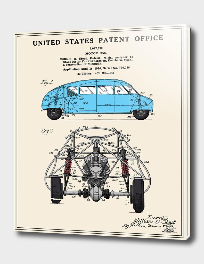 Motor Car Patent