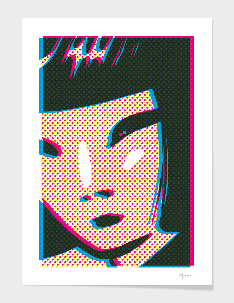 Graphic Face 08A