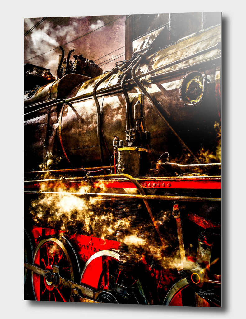 Steam Train - In Steam