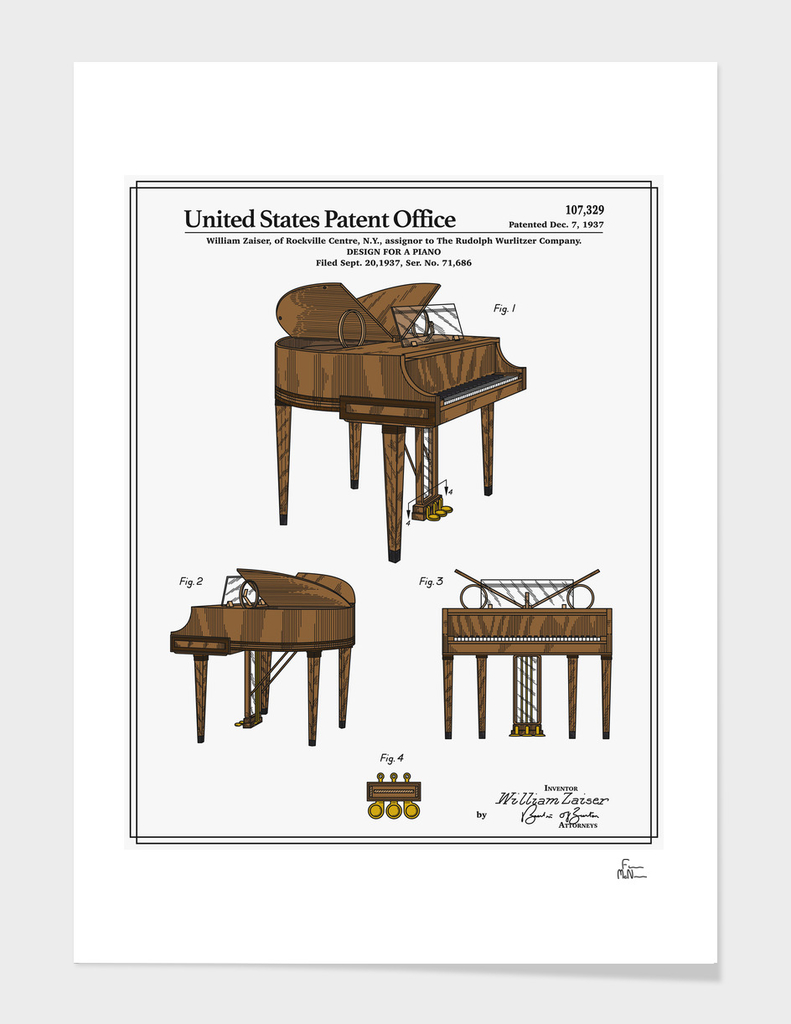 Piano Patent