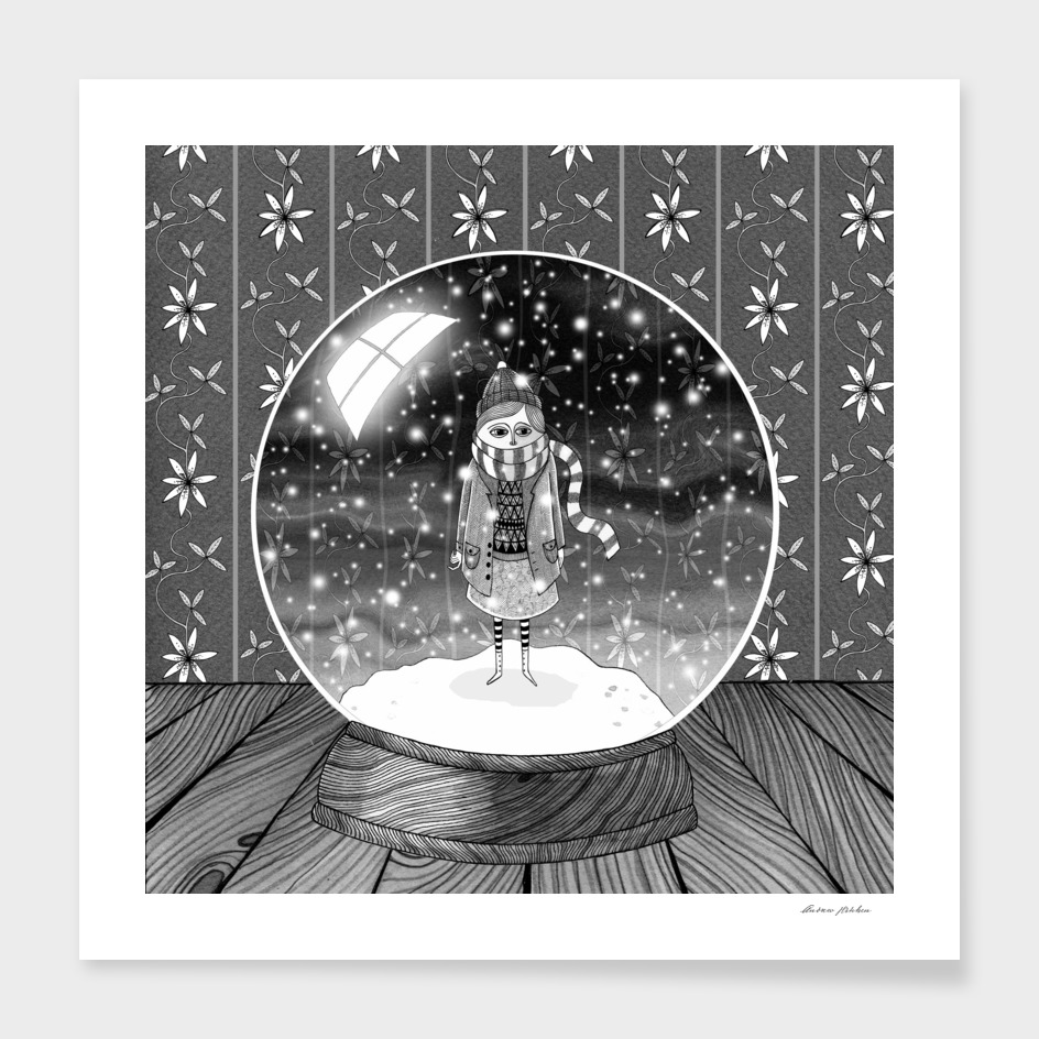 The Girl in the Snow Globe