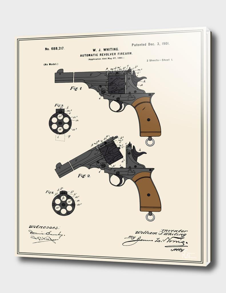 Automatic Revolver Patent