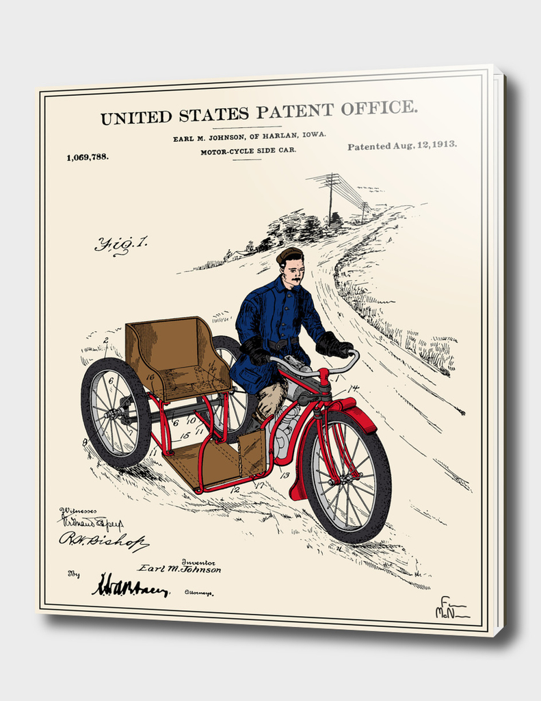 Motorcycle Sidecar Patent