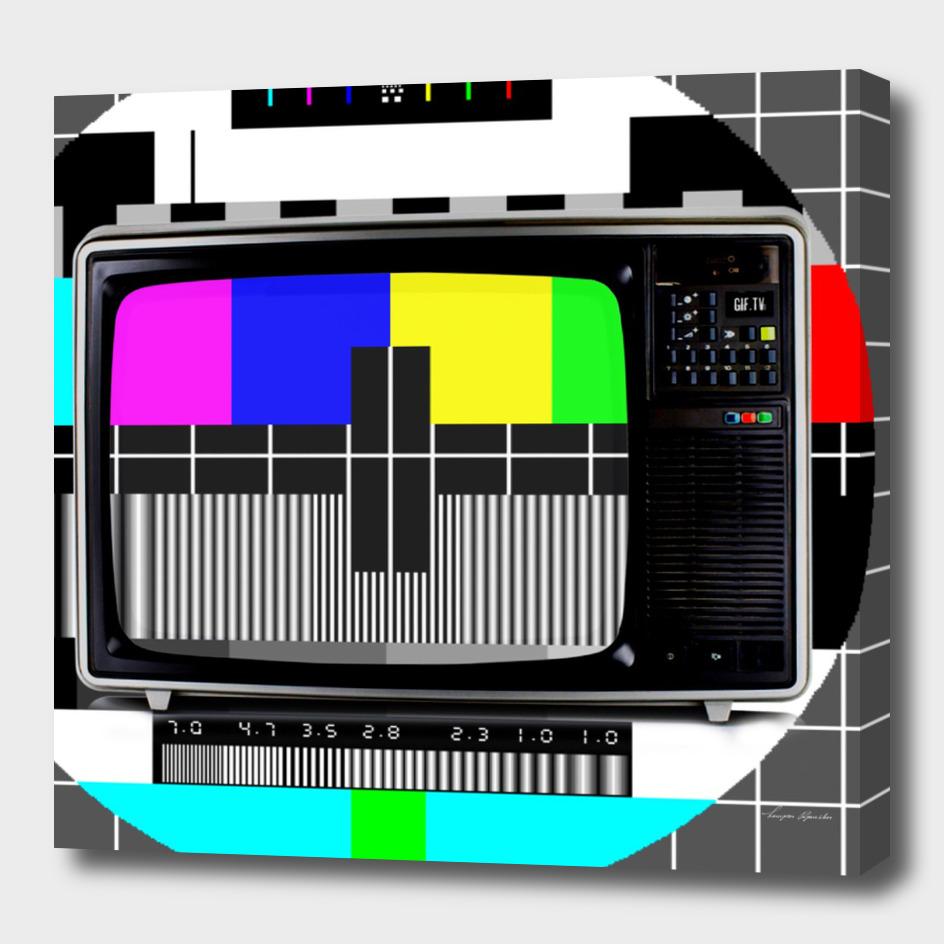 80S COLOUR TV