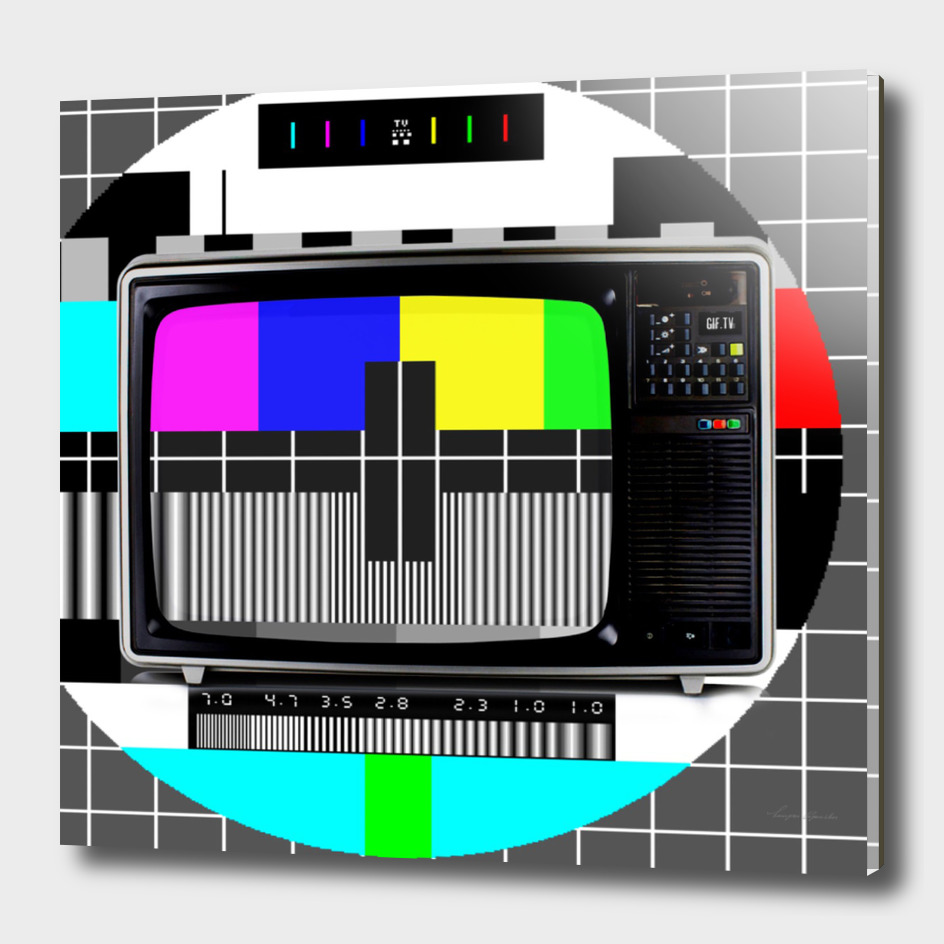 80S COLOUR TV