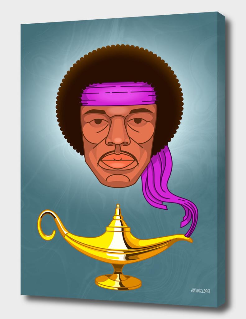Jimi Hendrix portrait