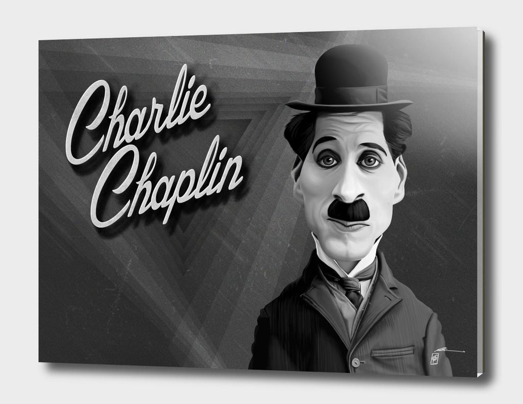 Charlie Chaplin - vintage movie card
