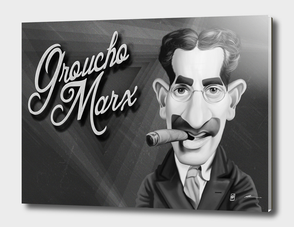 Groucho Marx - vintage movie card