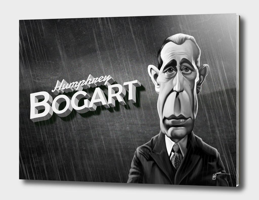 Humphrey Bogart - vintage movie card