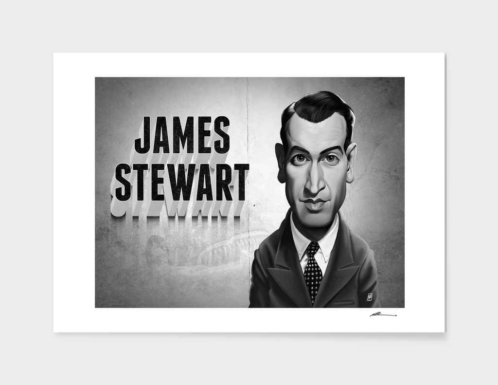 James Stewart - vintage movie card