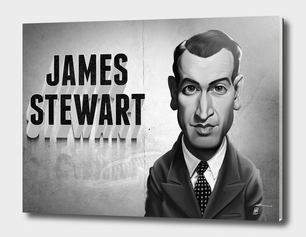 James Stewart - vintage movie card