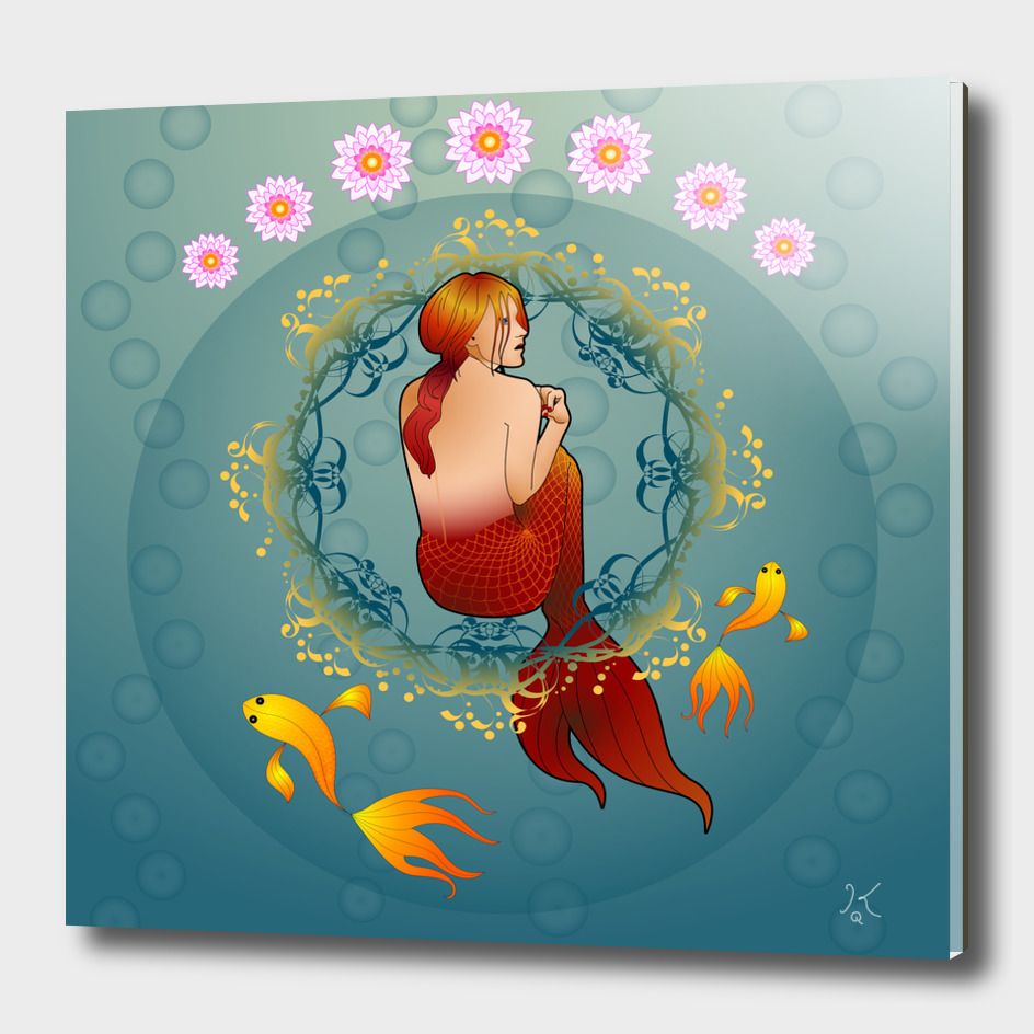 The journey of the Red Mermaid