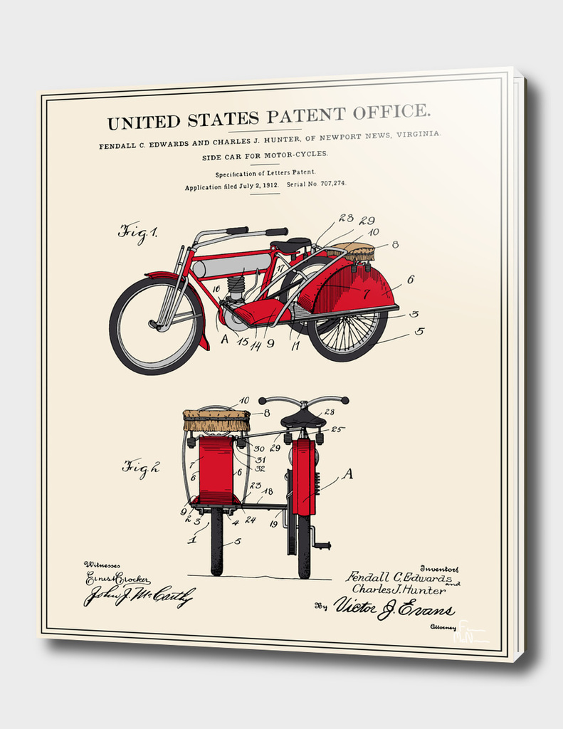 Motorcycle Sidecar Patent v2