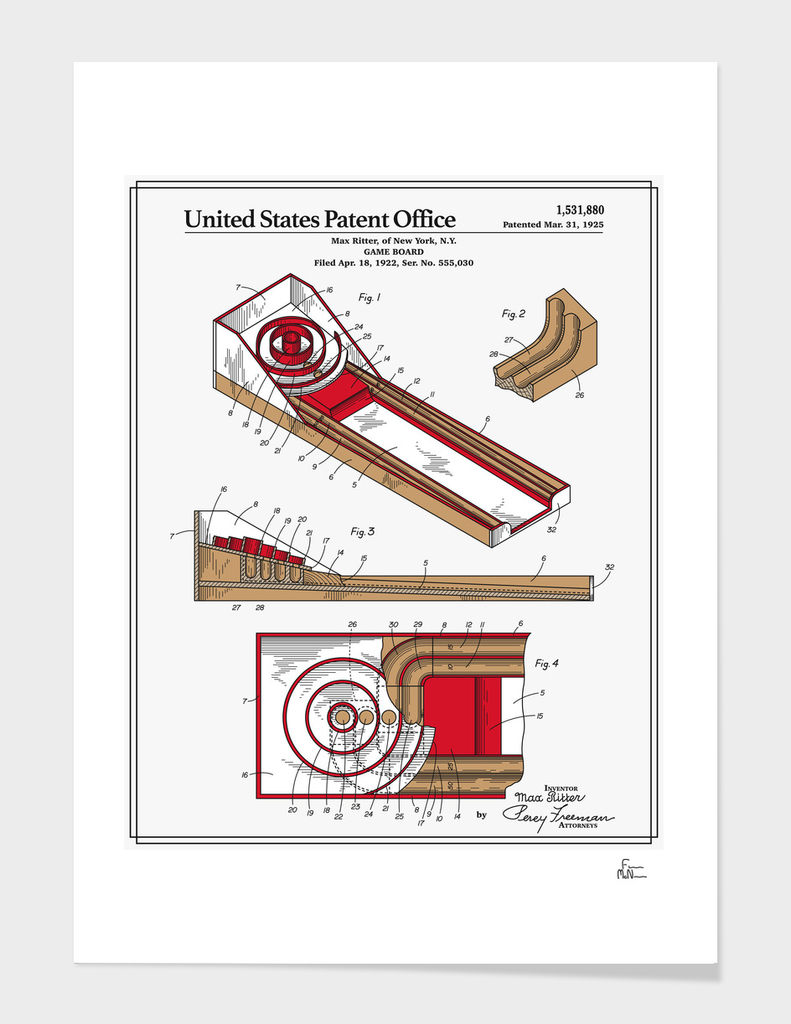 Skee Ball Patent