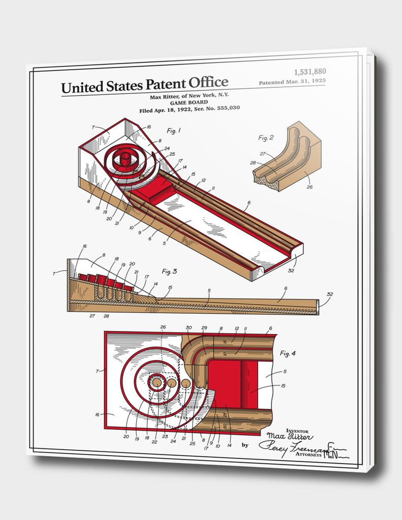 Skee Ball Patent