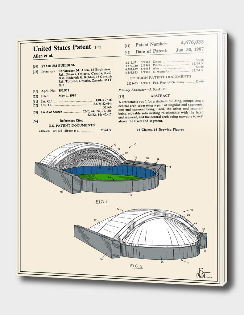 Stadium Patent