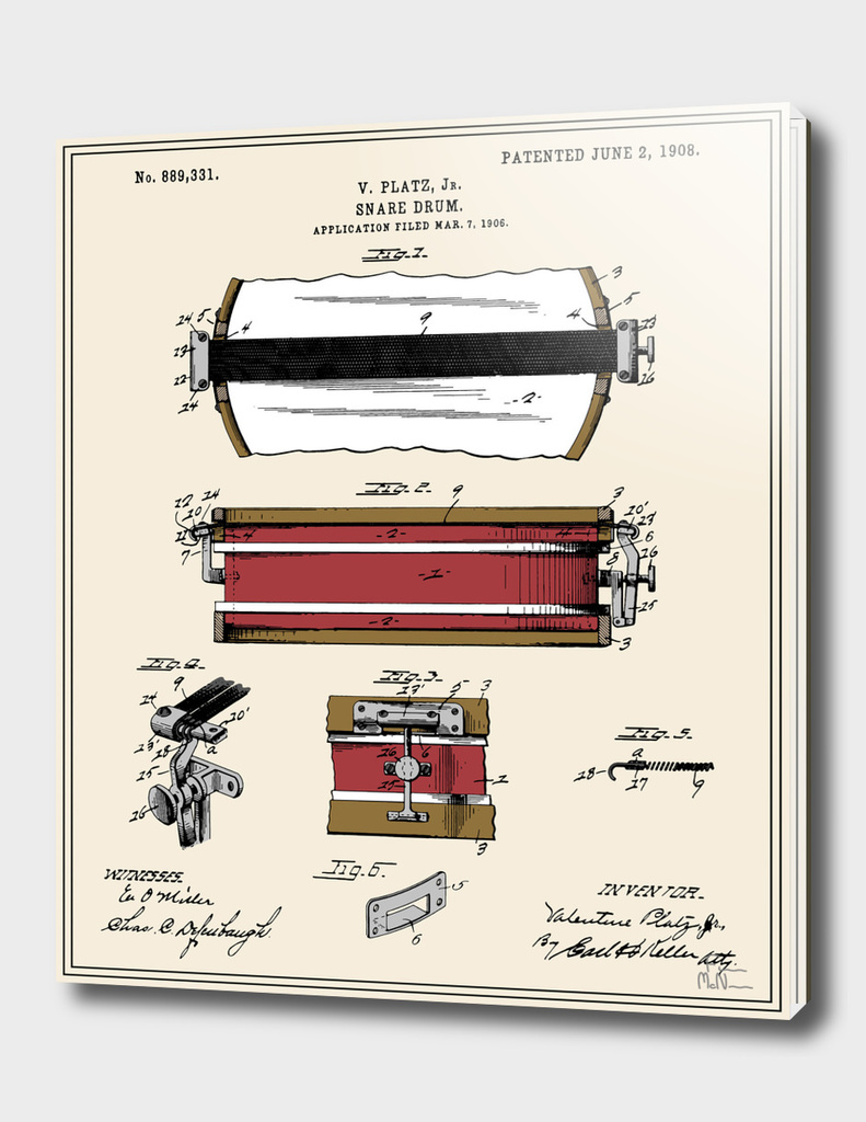 Snare Drum Patent