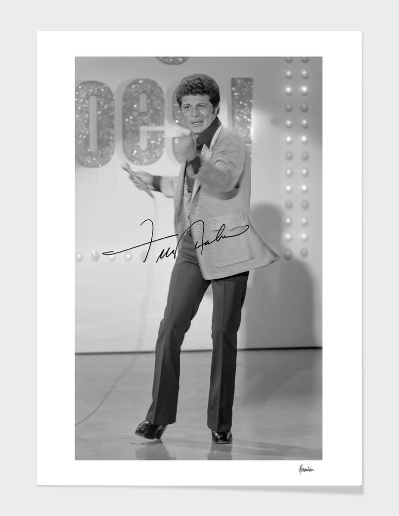 1973 Frankie Avalon, autograph