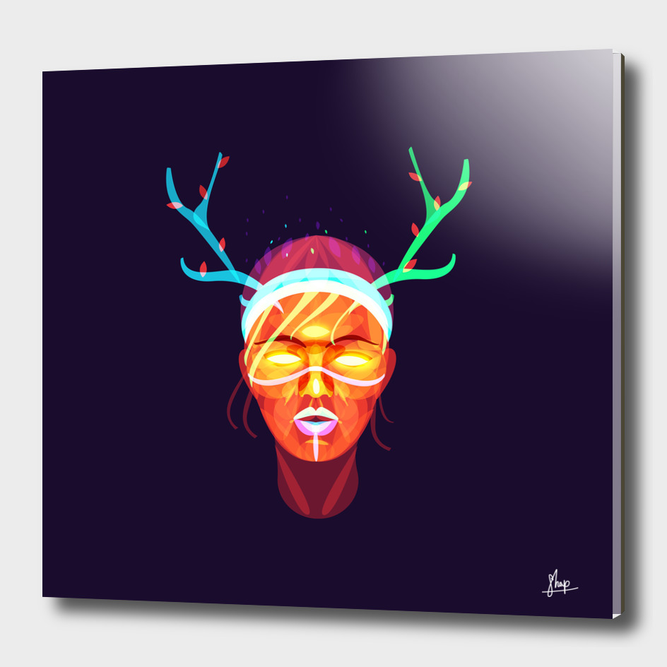 GIRL SHAMAN - the spirit of the deer
