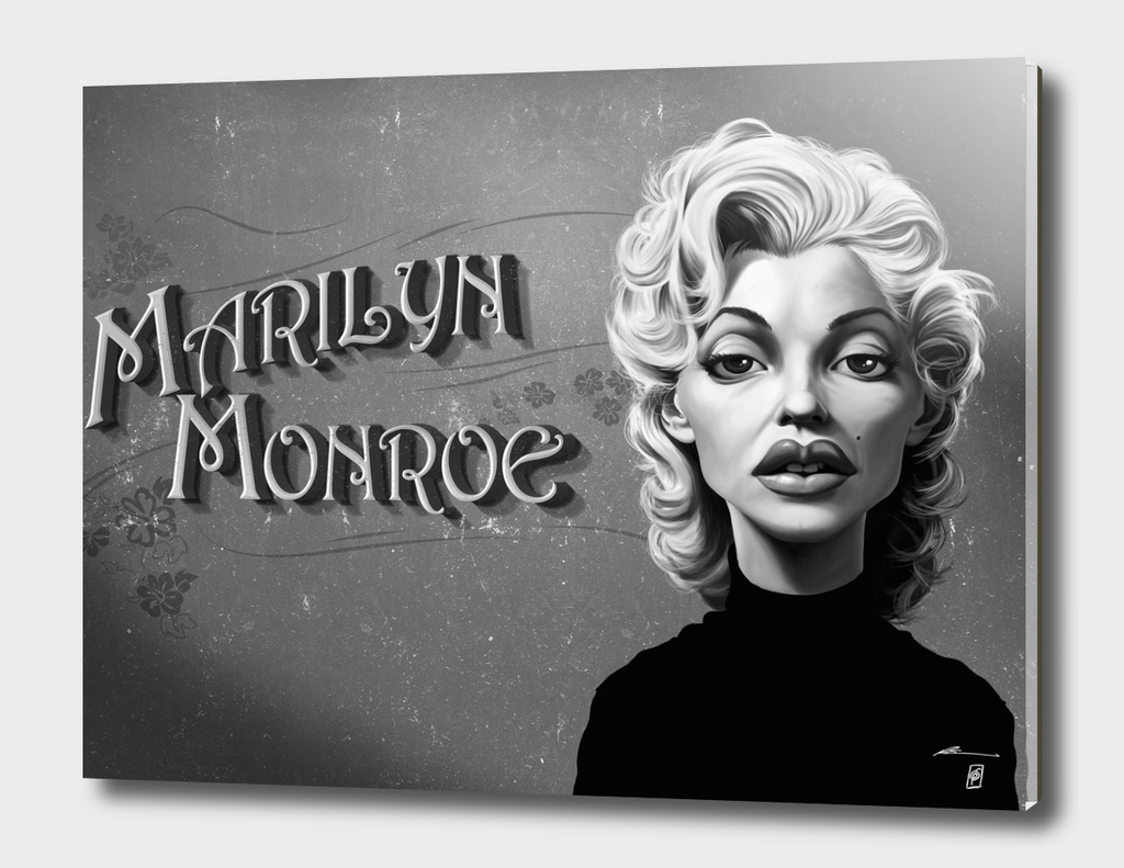 Marilyn Monroe - vintage movie card