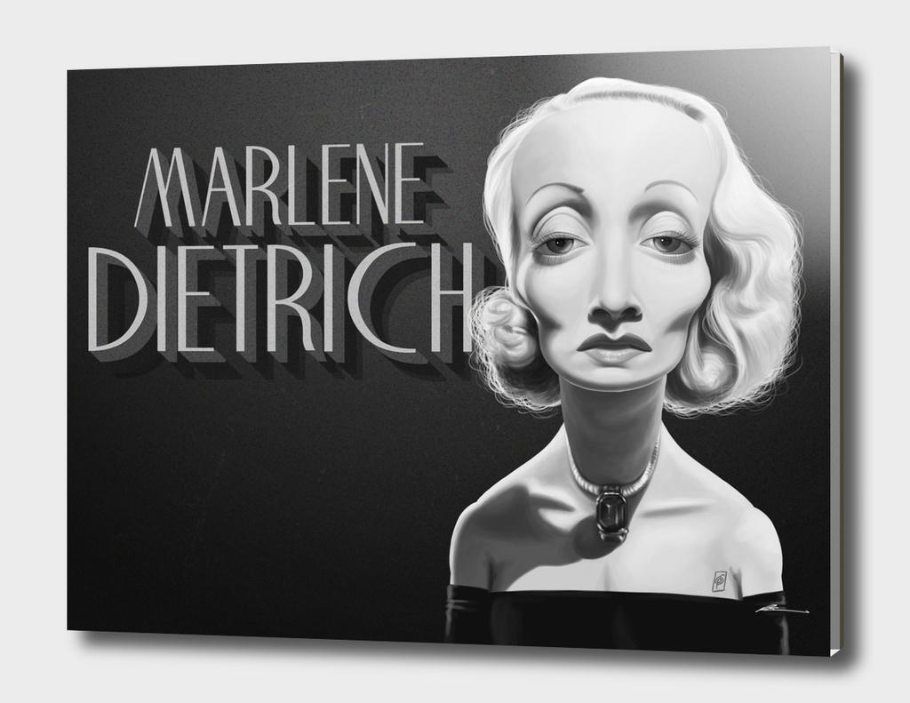Marlene Dietrich - vintage movie cards