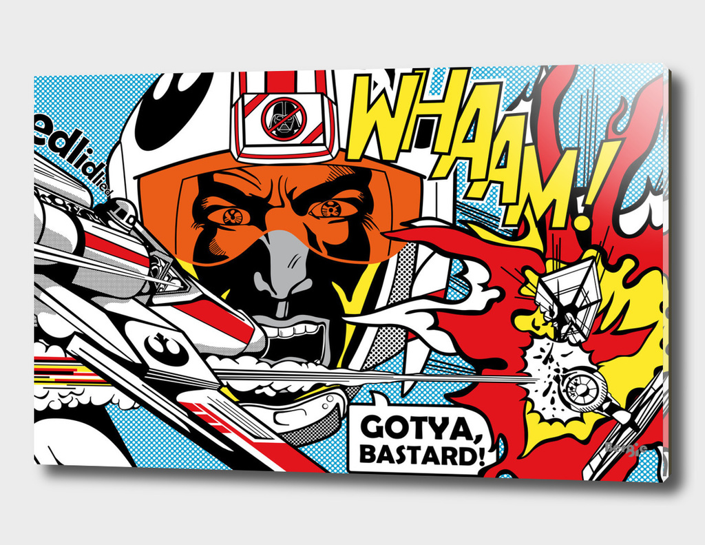 Star Wars Pop Art - Wham! Battle