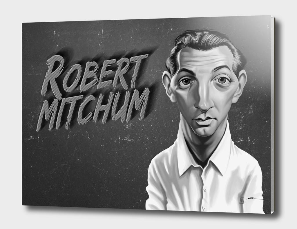 Robert Mitchum - vintage movie card